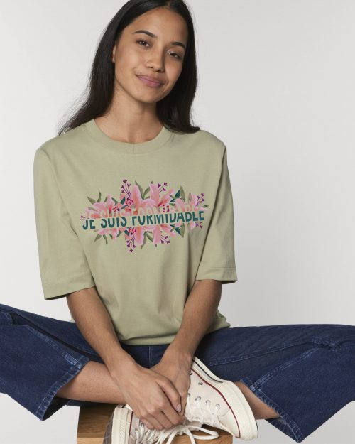 Camisetas sostenibles je suis formidable