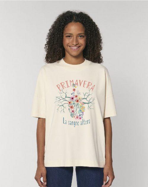 Camiseta oversize primavera
