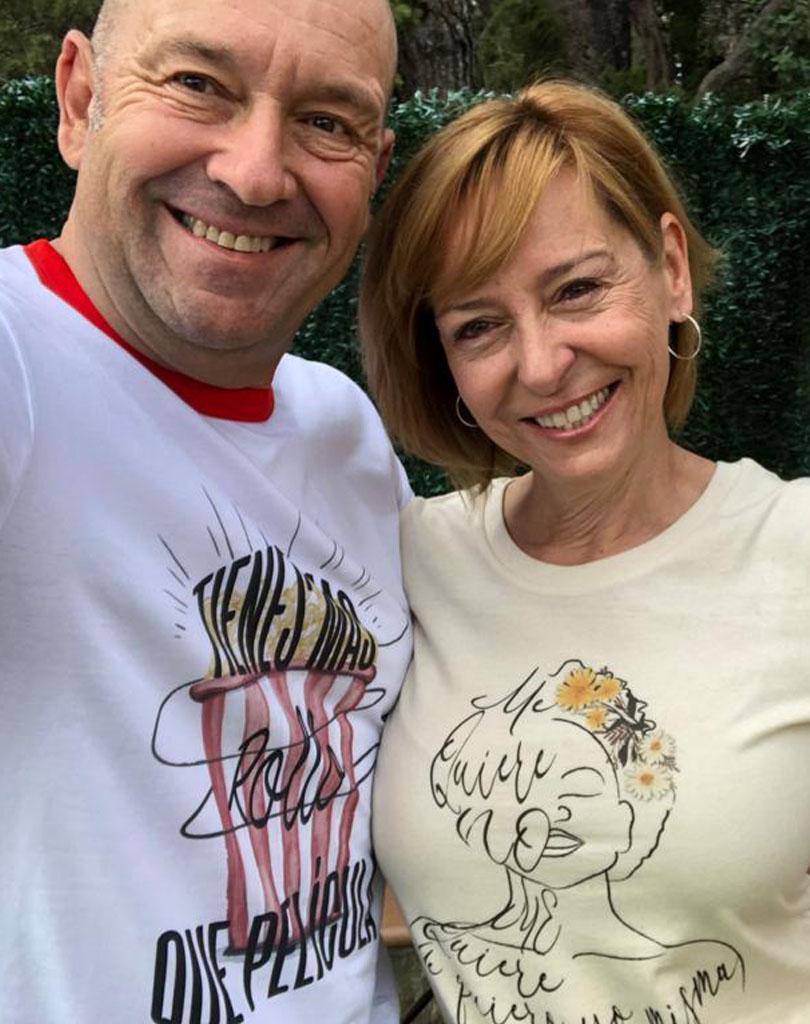 camisetas sostenibles tienes mas rollo que pelicula papa y mama